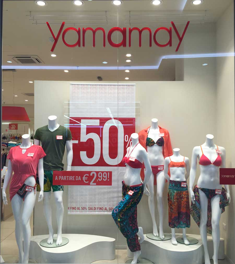 reputable site d8be2 4c4c9 Saldi Yamamay - Centro Commerciale Heraclea